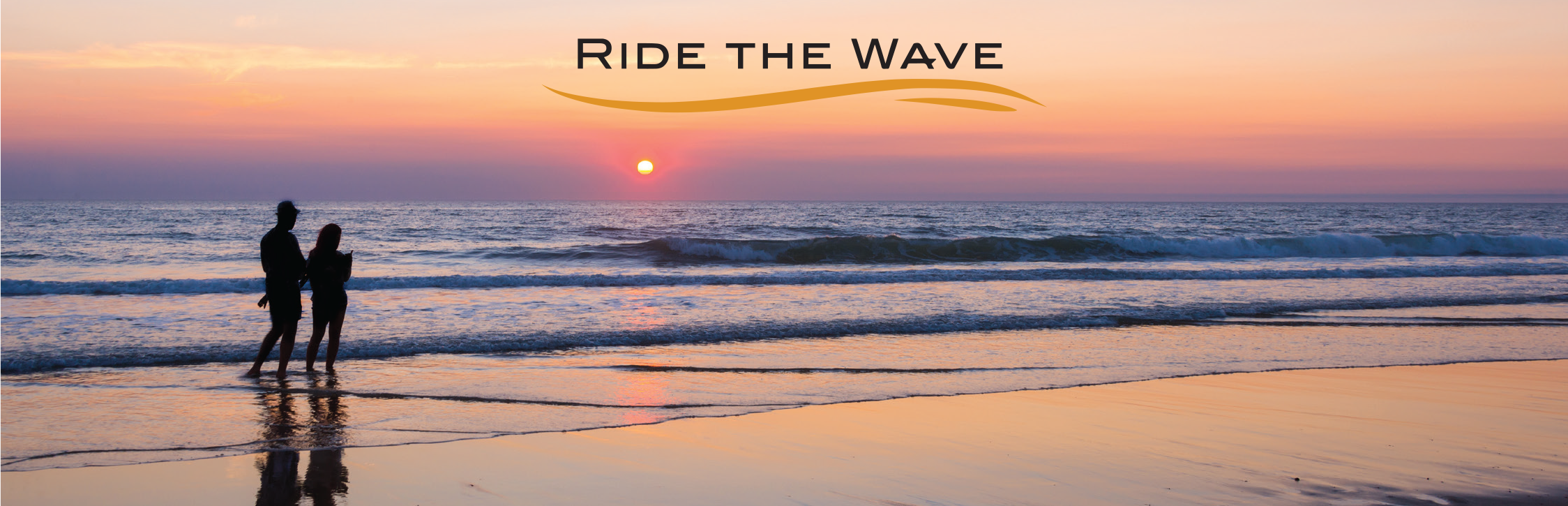 Ride The Wave Banner